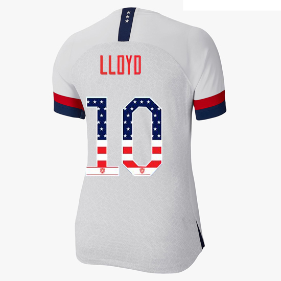 2019/20 USA Home Carli Lloyd Women's Jersey Independence Day
