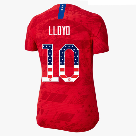 2019/20 USA Away Carli Lloyd Women's Jersey Independence Day