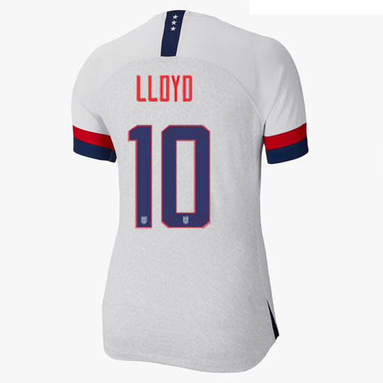 2019/20 USA Home Carli Lloyd Women's 4-Star Soccer Jersey (#10) - Click Image to Close
