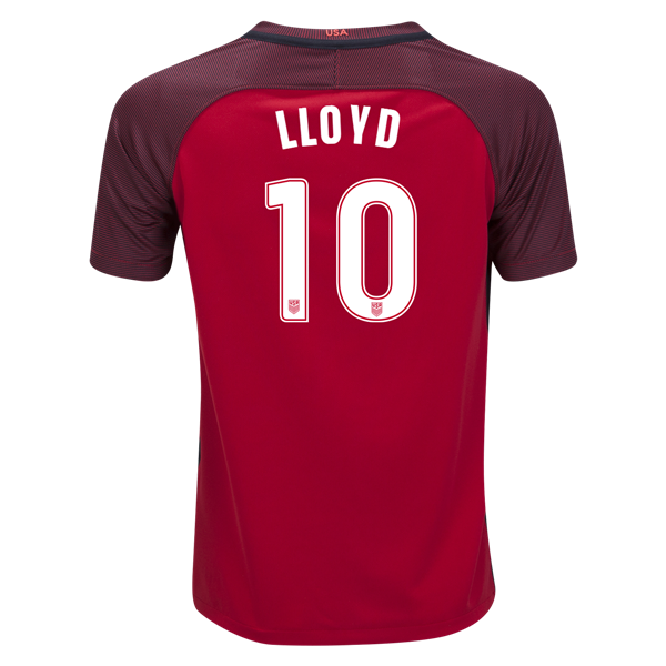 2017/18 USA Third Carli Lloyd Youth Soccer Jersey (#10)